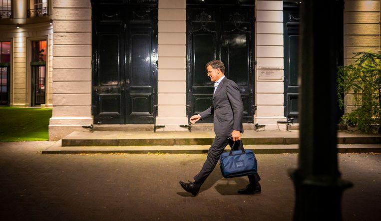 Demissionair premier en VVD-leider Mark Rutte. Beeld Freek van den Bergh / de Volkskrant