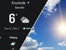 Nieuw! Check het weer in jouw buurt nu ook via de app van Tubantia.nl