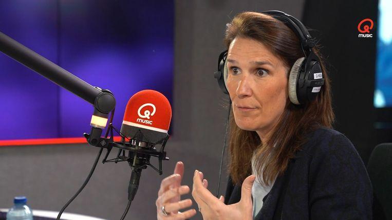 Premier Sophie Wilmès.  Beeld Qmusic