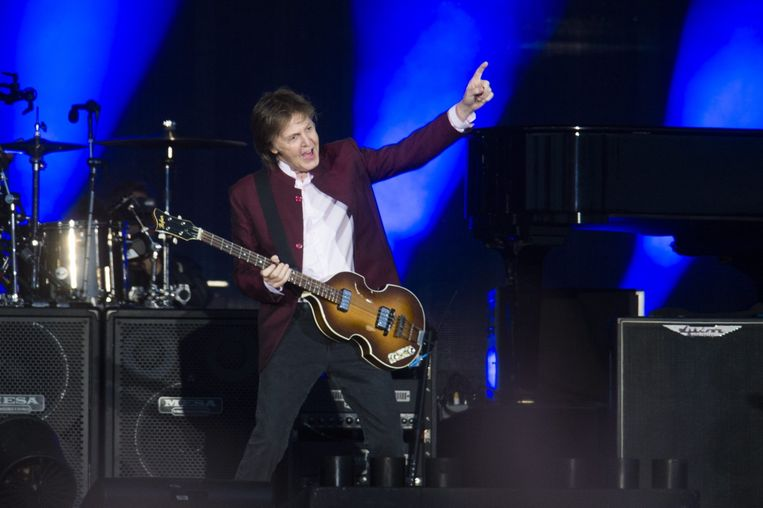 Paul McCartney. Beeld Alex Vanhee