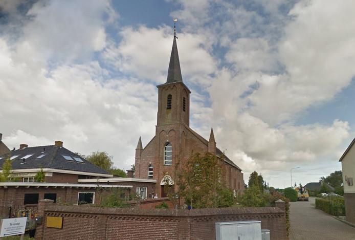 stockpzc voormalige rooms-katholieke Sint-Bavokerk in Groede 2016