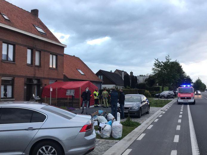 Le drame s'est déroulé lundi vers 19 h 15 le long de la Koning Leopoldlaan