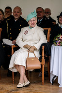 Koningin Margrethe van Denemarken.