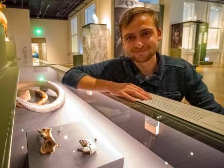 Zeldzaam! Abe (20) vond resten van uitgestorven grottenleeuw: 'Speuren zit in mijn bloed'