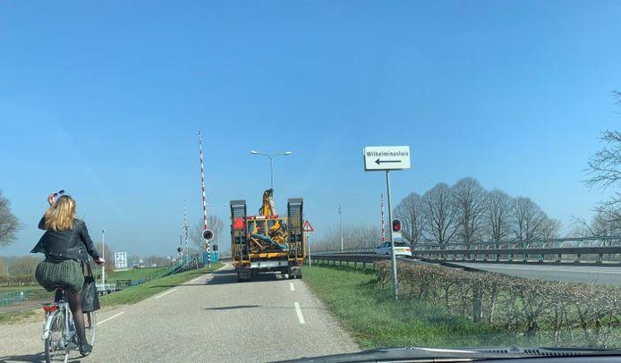 De Wilhelminasluis in Andel.