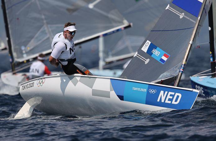 Nicholas Heiner kan over drie jaar niet meer in de Finn aan de Olympische Spelen meedoen.