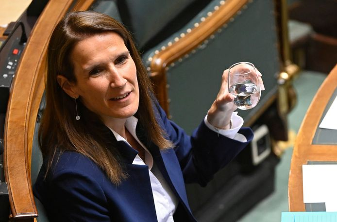 Premier Sophie Wilmès (MR).