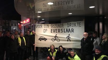 """Leefbaar Everslaar voert actie voor gemeenteraad: """"Voor een gezonde drukte in onze buurt"""""""