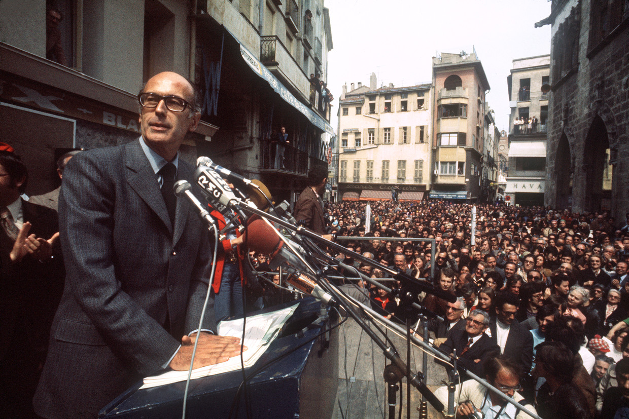 Valéry Giscard d'Estaing in 1974.