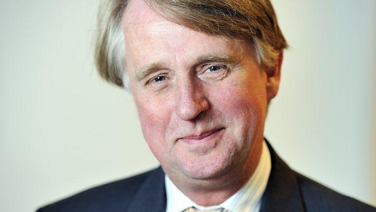 Portret van president-directeur Dick Benschop van Shell Nederland Beeld ANP