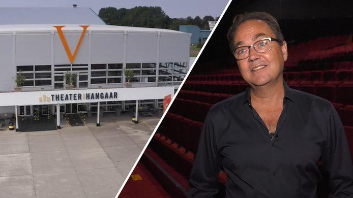 De TheaterHangaar (links) en producent Fred Boot.