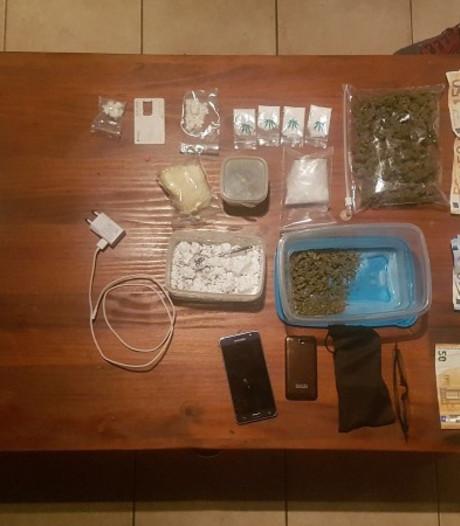 Zes arrestaties na vondst drugs in huis Aardenburg
