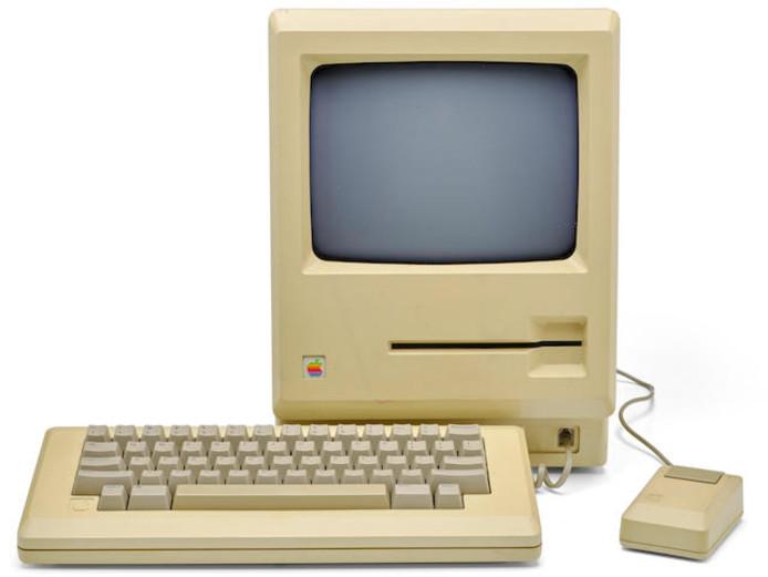 Prototype rarissime du premier Macintosh.