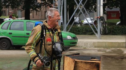 Roger blust laatste brandje na 41 jaar dienst