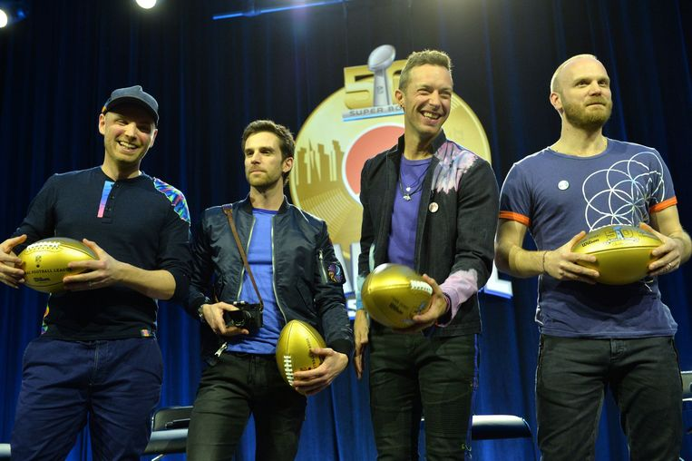 Coldplay. Beeld Photo News