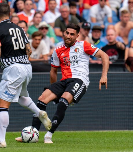Feyenoord struikelt met debutant Jahanbakhsh over PAOK Saloniki
