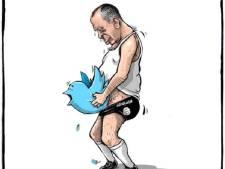 Erdogan opent jacht op (Nederlandse) Twitteraars die spotprents posten<br>