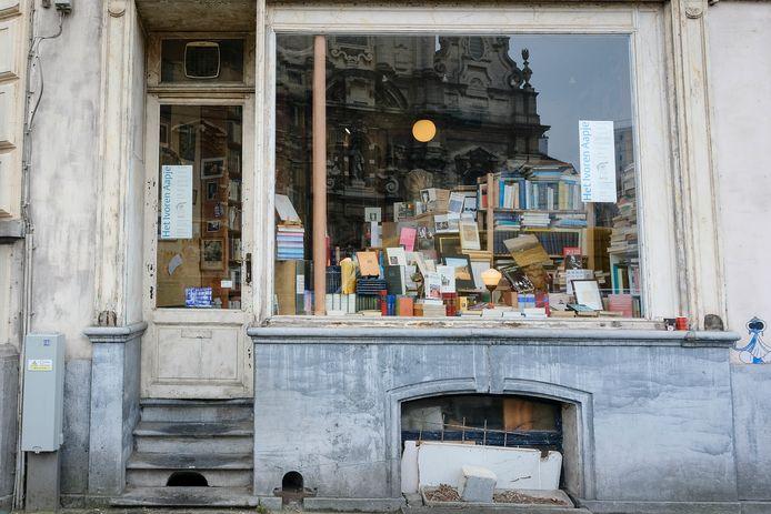 Het Ivoren Aapje is vernoemd naar de gelijknamige roman over Brussel van Herman Teirlinck.