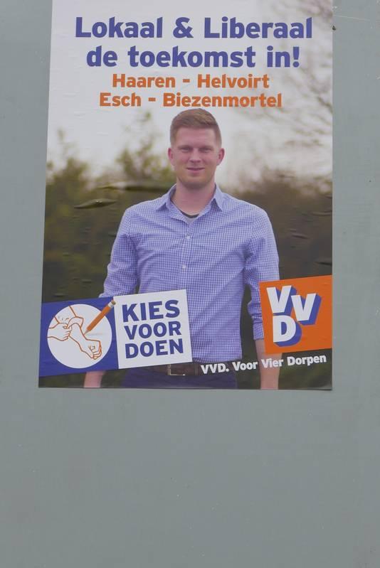 Boy Scholtze is lijsttrekker van VVD Haaren