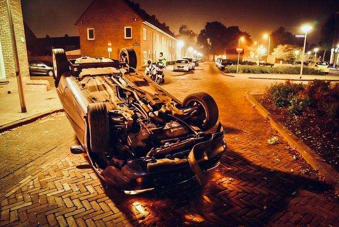 Het ongeluk gebeurde rond 4.30 uur in Tongelre.