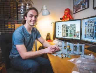 """Julien (26) bouwt Belfort na in LEGO: """"Het eindresultaat zal 2 meter hoog zijn, op schaal van een LEGO-mannetje"""""""