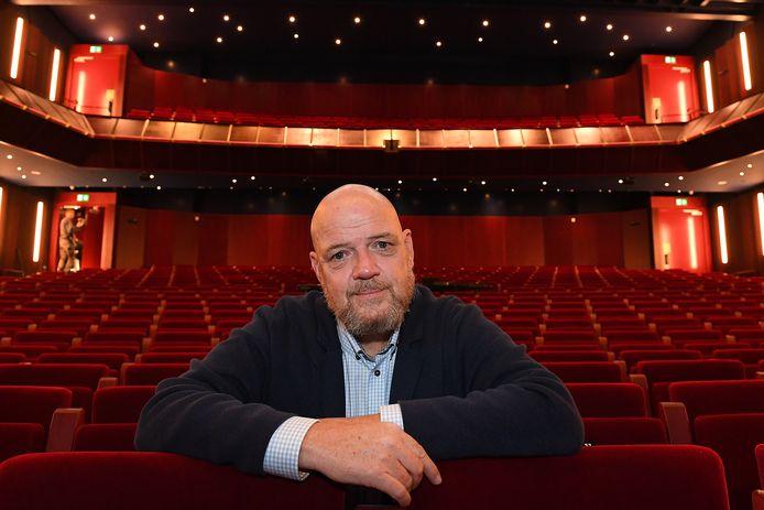 Sjoerd Meijer, directeur van de Cuijkse schouwburg.