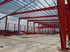 Een soort Meccano voor volwassenen: Remco Ruimtebouw uit Nieuwkuijk bouwt in Afrika