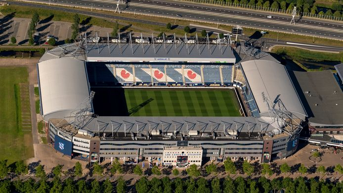Abe Lenstra Stadion van sc Heerenveen.