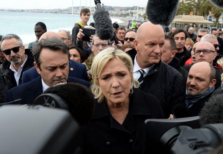 Marine Le Pen. Beeld AP
