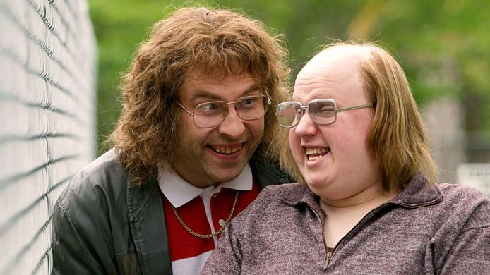 Lou en Andy uit Little Britain.