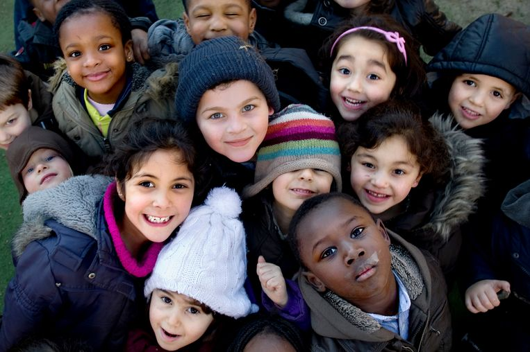 Zorgt een sociale mix op school voor betere schoolprestaties? De meningen zijn verdeeld. Beeld Isabel Pousset