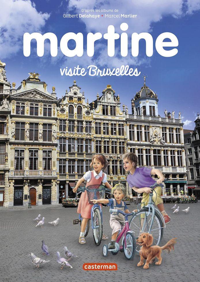 Martine visite Bruxelles est paru chez Casterman.