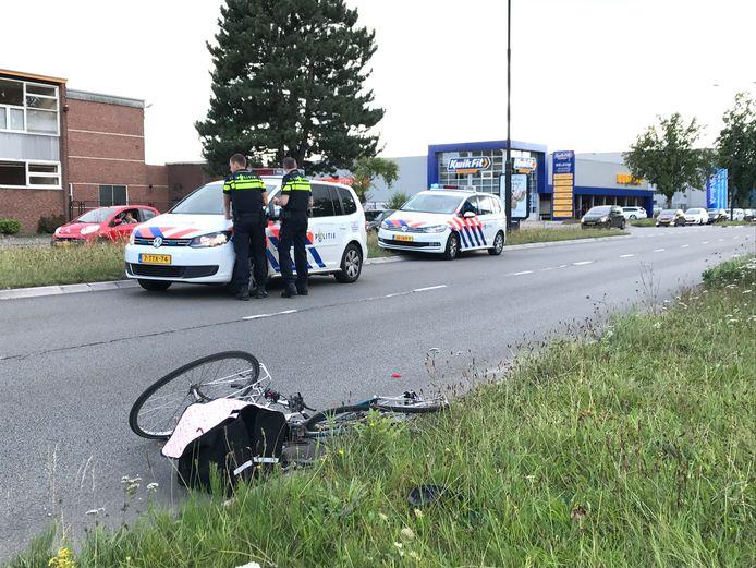 Het ongeluk gebeurde in Apeldoorn.