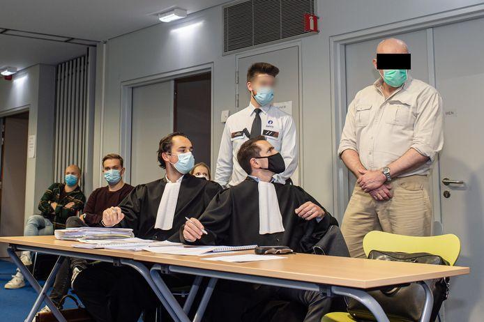 Fred Wittig staat terecht voor het hof van assisen in Antwerpen.