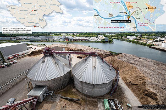 Bio Energie Centrale Cuijk.