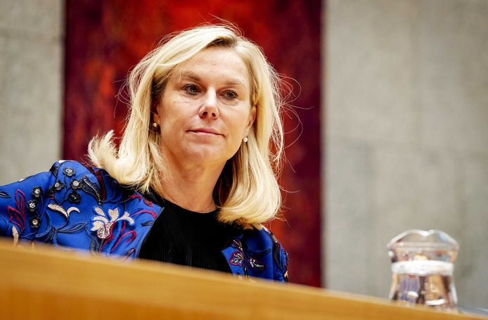 Minister Sigrid Kaag van Buitenlandse Handel en Ontwikkelingsamenwerking