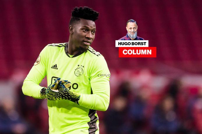 Hugo Borst haalt in zijn column uit naar Ajax-doelman Andre Onana.