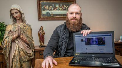 VIDEO. Priester-rapper Matthias Noë laat zich gaan met… de Pinksterenrap
