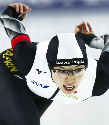 Kodaira wint eerste 500 meter op WK sprint