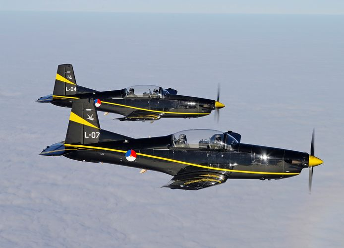 De PC7 Pilatus-lestoestellen van de luchtmacht zijn na grondig onderzoek op Chroom-6 weer veilig verklaard.