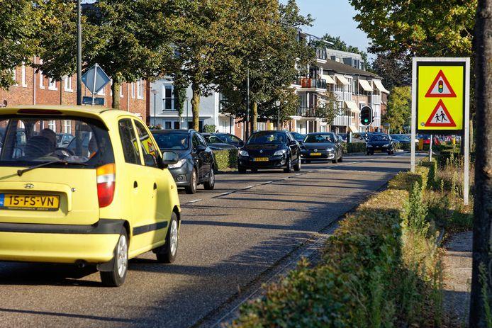 De Sassenheimseweg in Berlicum.