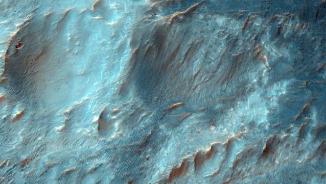 Mars geraakte oceaan aan water kwijt