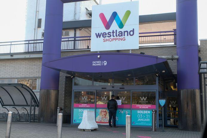 Westland Shopping Center in Anderlecht.