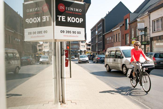 Illustratiebeeld. Wat met de leegstand van winkels in Sint-Truiden?