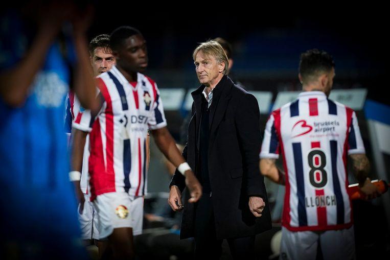 Coach Adrie Koster van Willem II. Beeld BSR Agency