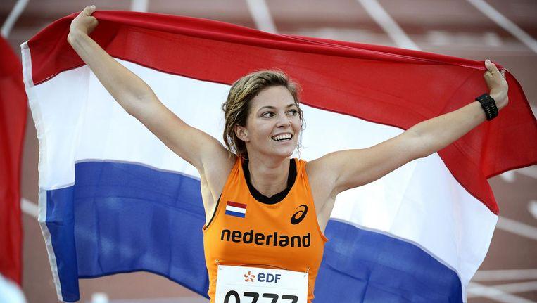Kan paralympisch kampioene Marlou van Rhijn 'Sportvrouw van het Jaar' worden? Beeld anp