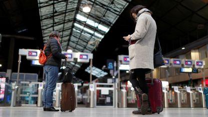 Trein- en metrostaking treffen reizigers in kerstvakantie in Frankrijk