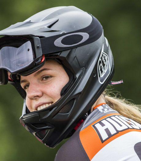 Ook na NK-titel is het voor BMX'ster Ruby Huisman soms nog moeilijk om over Papendal te lopen: 'Overal zie je die olympische ringen'