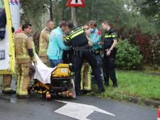 Motoragent raakt gewond op Zwaardslootseweg