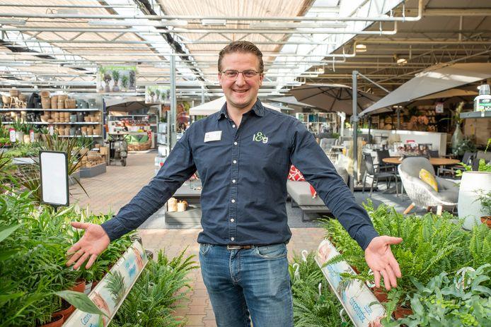 Freek Schalk, eigenaar van Life & Garden.